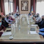 Kicillof se reunió con intendentes